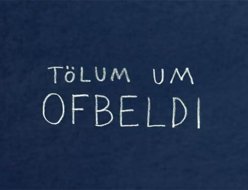 """Kvikmyndin """"Tölum um ofbeldi"""" – á íslensku, ensku og norsku."""